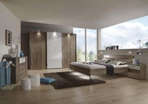 MIAMI 2 with Miro Bed and Drawers